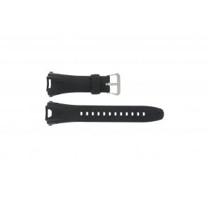 Casio horlogeband GW-700A-W1 Rubber Zwart 29mm
