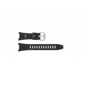 Casio horlogeband PRW-1300-1VJ Rubber Zwart 26mm