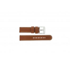 Danish Design horlogeband IQ12Q712 Leder Bruin 20mm