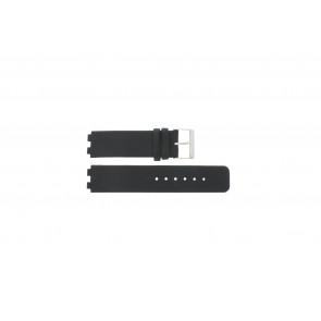 Danish Design horlogeband IQ13Q523 / IQ12Q523 Leder Zwart 16mm