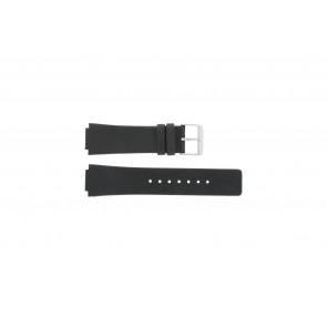 Danish Design horlogeband IQ13Q1007 / IQ12Q884 / IQ12Q1007 Leder Zwart 16mm