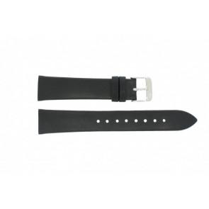 Danish Design horlogeband IV13Q900 Leder Zwart 20mm