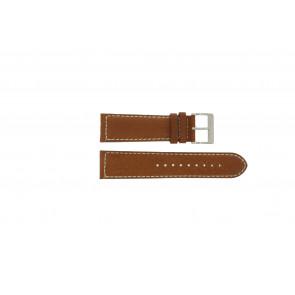 Davis horlogeband BB0451.24L Leder Lichtbruin 24mm