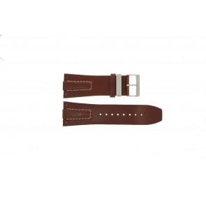 Davis horlogeband BB0580 / BB0581 / BB0582 Leder Bruin 30mm