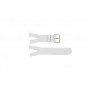 Davis horlogeband BB1401 Leder Wit 30mm