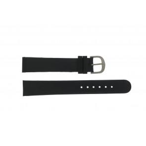 Danish Design horlogeband DD18mmXL Leder Zwart 18mm