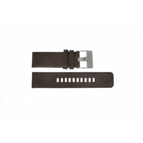 Diesel horlogeband DZ-1467 Leder Bruin 24mm