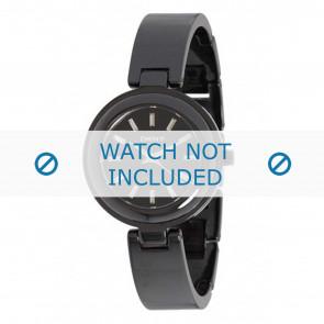 DKNY horlogeband NY8549 Keramiek Zwart