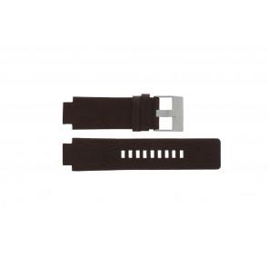 Diesel horlogeband DZ1123 / DZ1090  Leder Bruin 18mm