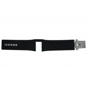 Diesel horlogeband DZ7033 Leder Zwart 32mm
