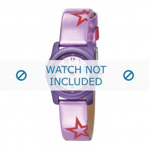 Esprit horlogeband ES000FA4-40PA / 000FA4038 / 000FA4 Leder Paars