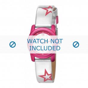 Esprit horlogeband ES000FA4-40ZI /  000FA4 Leder Zilver