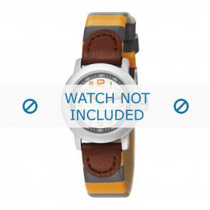 Esprit horlogeband ES106414-40GG Leder Geel