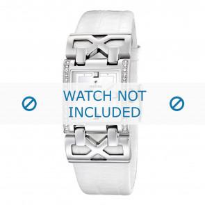 Festina horlogeband F16465-1 / F16465-4 Leder Wit