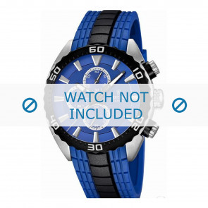 Festina horlogeband F16664/6  Rubber Blauw 23mm