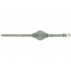 Fossil horlogeband ES-3467 Leder Groen 8mm