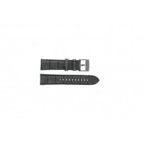 Fossil horlogeband FS4766 Leder Grijs 22mm