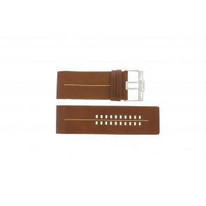 Fossil horlogeband JR9641  Leder Bruin 36mm