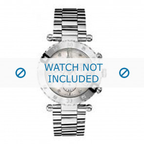 Guess horlogeband GC43000 / 29002L1 Staal Zilver