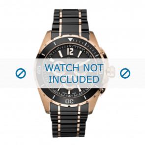 Guess horlogeband GC55000G Keramiek Zwart