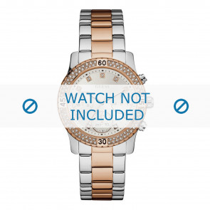 Guess horlogeband W0851L3 Staal Multicolor 20mm