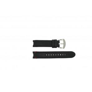 Buddha to Buddha horlogeband 39mm / BTB.F.R.CH.01 / BTB.F.R.CH.04 Leder Zwart 18mm + zwart stiksel