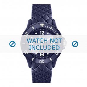 Ice Watch horlogeband 007270 rubber Blauw 17mm