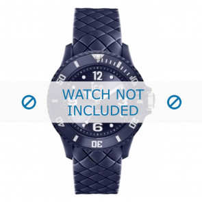 Ice Watch horlogeband 007271 Leder Blauw 20mm + standaard stiksel