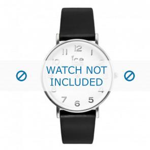 Ice Watch horlogeband ct-bsr-36-l-16 Leder Zwart 18mm