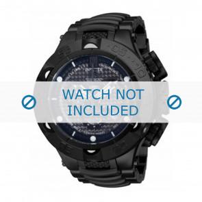 Invicta horlogeband 14311 Staal Zwart