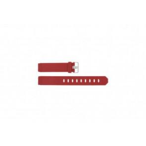 Jacob Jensen horlogeband 700 serie - 751 Rubber Rood 17mm
