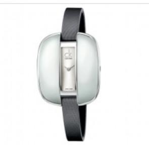 Calvin Klein horlogeband K2E236-K600000084 Leder Grijs 9mm