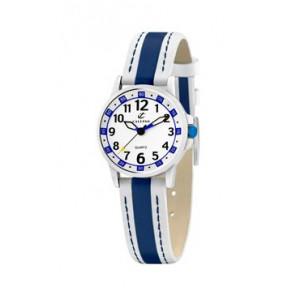 Horlogeband Calypso k5212-1 Leder Blauw