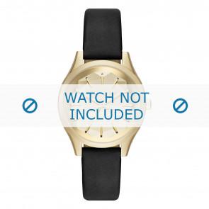 Karl Lagerfeld horlogeband KL1617 Leder Zwart