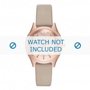 Karl Lagerfeld horlogeband KL1619 Leder Beige