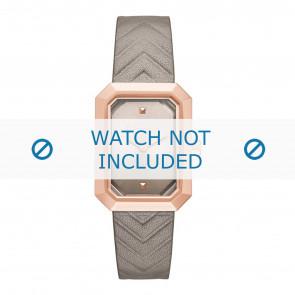 Karl Lagerfeld horlogeband KL6103 Leder Beige