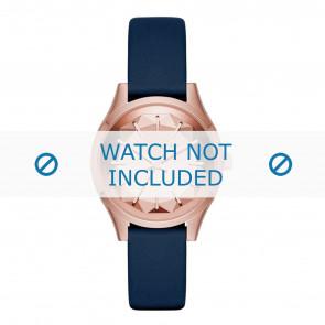 Karl Lagerfeld horlogeband KL1632 Leder Blauw