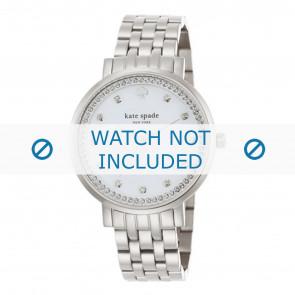 Kate Spade New York horlogeband 1YRU0820 / MONTEREY Staal Zilver