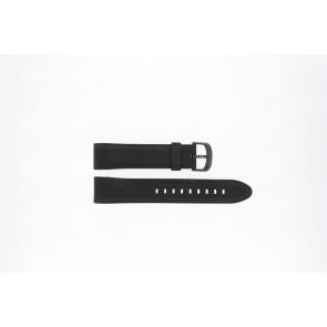 Lorus horlogeband PC32-X063 Rubber Zwart 22mm