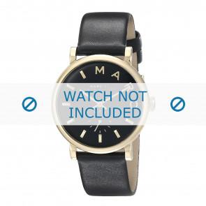 Marc by Marc Jacobs horlogeband MBM1269 Leder Zwart 19mm