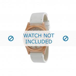 Marc by Marc Jacobs horlogeband MBM1260 Leder Wit