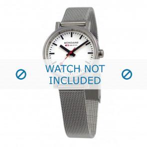 Mondaine horlogeband A658.30301.11SBV / BM20037 / 30301 / EVO 26 Staal Zilver 12mm
