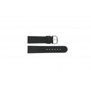 Danish Design horlogeband IQ13Q586 Leder Zwart 22mm