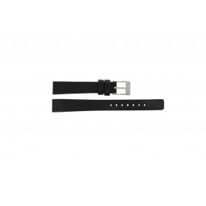 Diesel horlogeband DZ-2074 Leder Zwart 14mm