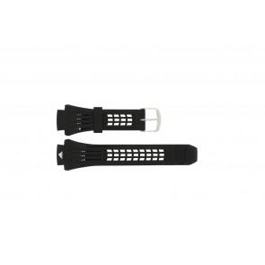 Adidas horlogeband ADP6002 Rubber Zwart 19mm