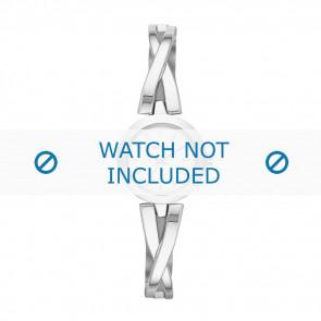 DKNY horlogeband NY-2169 Staal Zilver 20mm