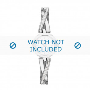 DKNY horlogeband NY-2173 Staal Zilver 20mm