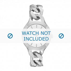 DKNY horlogeband NY-2216 Staal Zilver 36mm