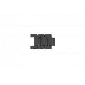 DKNY NY4983 Schakels Keramiek Zwart 20mm