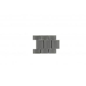 Fossil JR1437 Schakels Staal Zilver 24mm